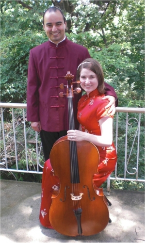 Arturo and Jennifer, Cincinnati cellists